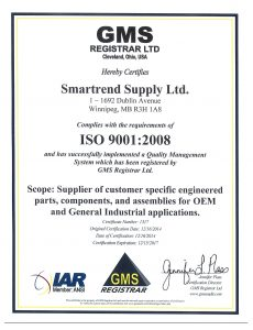 smartrend-supply-iso-certificate